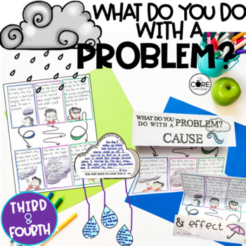 What Do You Do With a Problem: Interactive Read-aloud Lessons and Activities 3-4