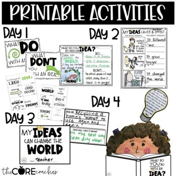 What Do You Do With an Idea?: Interactive Read-Aloud Lesson Plans and Activities