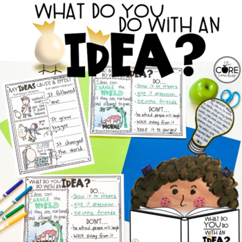 What Do You Do With an Idea? Read-Aloud | Distance Learning | Google Slides