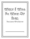 What Do You Do With an Idea? Planning Workbook Activity/Craft