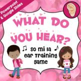 What Do You Hear? Interactive Music Game – So Mi La [Valen
