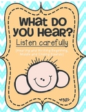 What Do You Hear? {Hearing and Writing} Beginning Middle and Ending Sounds