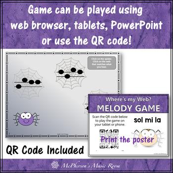 Melody Game: Sol Mi La Interactive Music Game {Web}