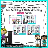 What Do You Hear? Pitch Match: BOOM CARDS-Digital Task Car