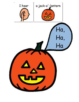 What Do You  Hear Spooky Sounds Book? HALLOWEEN