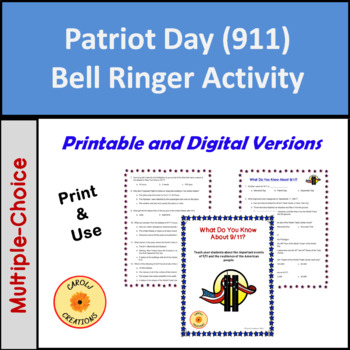 What Do You Know About 9/11 (Patriot Day) Activity