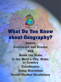 What Do You Know About Geography?
