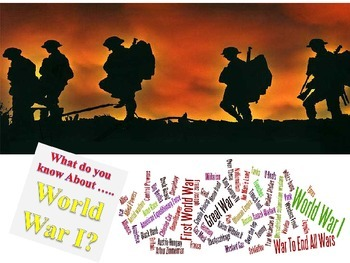 What Do You Know About WW I? 30 Questions