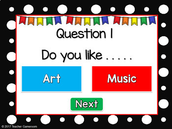 What Do You Like? - A Get To Know You Game