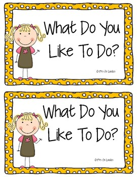 What Do You Like to Do?: Sight Word Early Reader