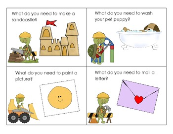 What Do You Need? Language and Critical Thinking Activities