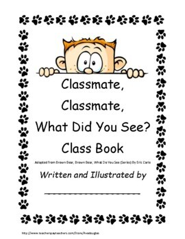 What Do You See Class Book