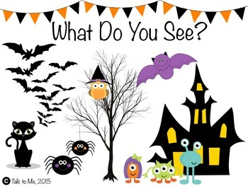 What Do You See, Halloween Book