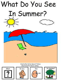 What Do You See In Summer? Interactive book with number/vo