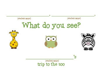 """""""What Do You See?"""" at the Zoo"""