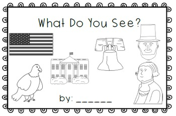 What Do You See?  emergent reader