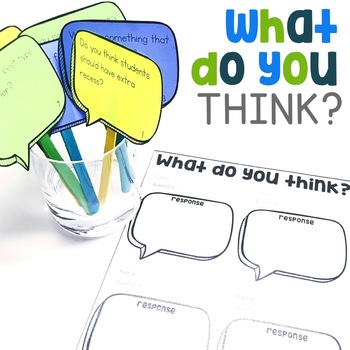 What Do You Think? | Ask and Answer Questions