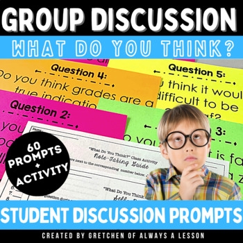 """What Do You Think?"" Group Discussion Activity"