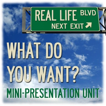What Do You Want? - Life after Graduation Mini-Presentation
