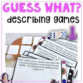 Listening and Speaking Skills for Descriptions Gift-Giving Theme
