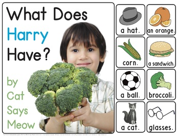 What Does Harry Have? MLU Interactive Book