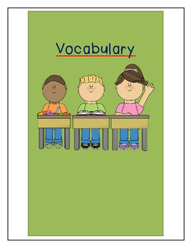 What Does It Mean?- Vocabulary Book