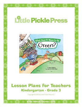 What Does It Mean to Be Green? Lesson Plan
