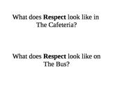 What Does Respect Look Like?