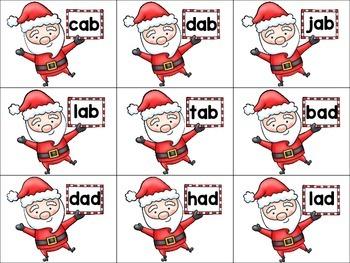 What Does Santa Say? CVC Version