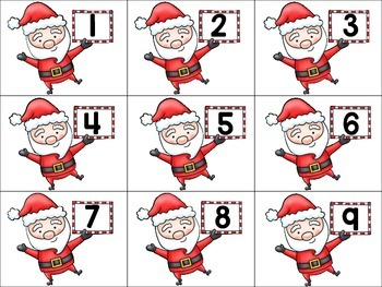 What Does Santa Say? Numbers Version