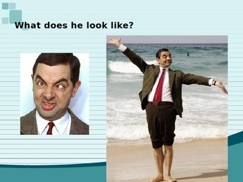 What Does She Look Like? Review & Chant PowerPoint