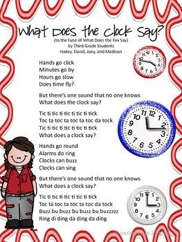 What Does The Clock Say?