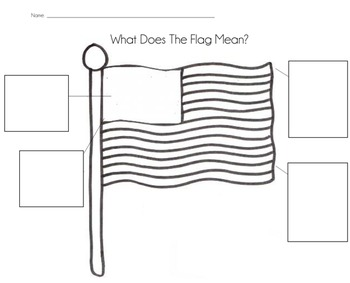 What Does The Flag Mean? Printable