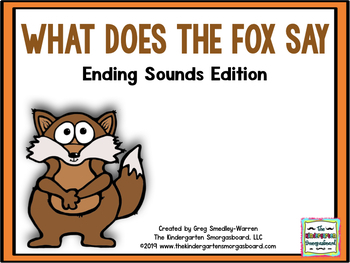 What Does The Fox Say?  Ending Sounds Creation!