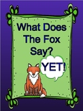 What Does The Fox Say? Growth Mindset Power of Yet Posters