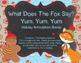 What Does The Fox Say?  Holiday Articulation Pack