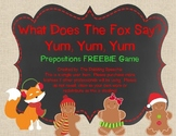 What Does The Fox Say? Prepositional Phrases FREEBIE Activity