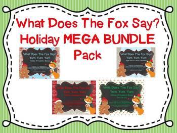 What Does The Fox Say Speech & Language Mega Bundle