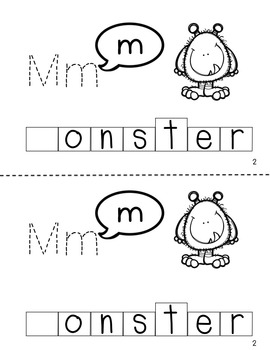 What Does The Letter Say? Trace and Stamp Books for Letter-Sound Correspondence