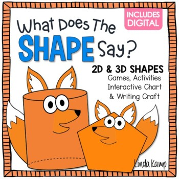Shapes Activities 2D & 3D What Does the Shape Say?