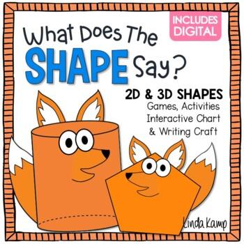 3d shapes for kindergarten video