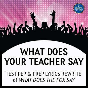 Testing Song Lyrics for The Fox
