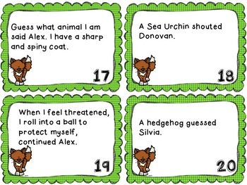 What Does a Fox Say? Quotation and Punctuation Practice