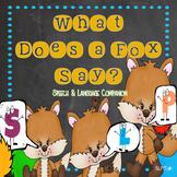 What Does a Fox Say? Speech & Language Companion