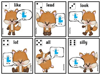What Does a Fox Say? Speech & Language Companion