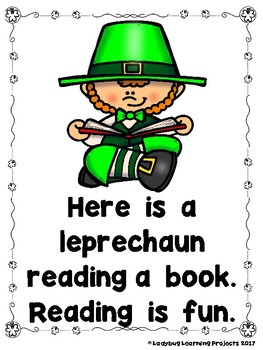 What Does a Leprechaun Do For Fun?  (Emergent Reader and Teacher Lap Book)