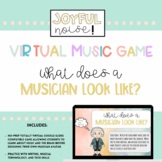 What Does a Musician Look Like? - A Virtual Music Game for