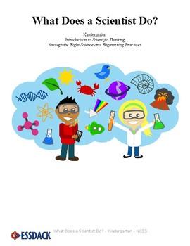 What Does a Scientist Do? - Kindergarten