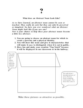 What Does an Abstract Noun Look Like?