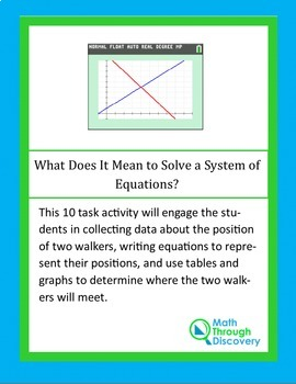What Does it Mean to Solve a System of Equations?
